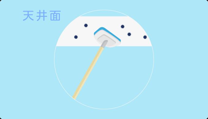 お風呂のカビ掃除の手順4