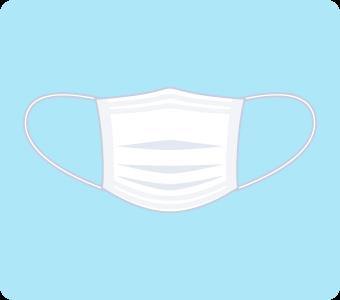 お風呂のカビ掃除で身につけるマスク