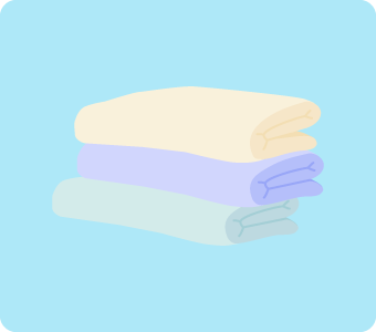 お風呂のカビ掃除で使うマイクロファイバークロス