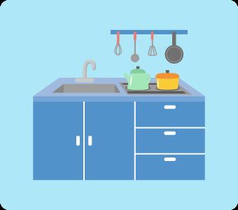 キッチンハイターの使用目的はキッチンでの漂白