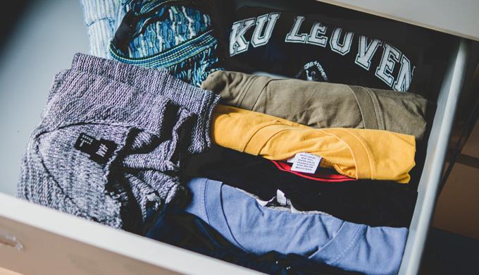 衣類の保管場所